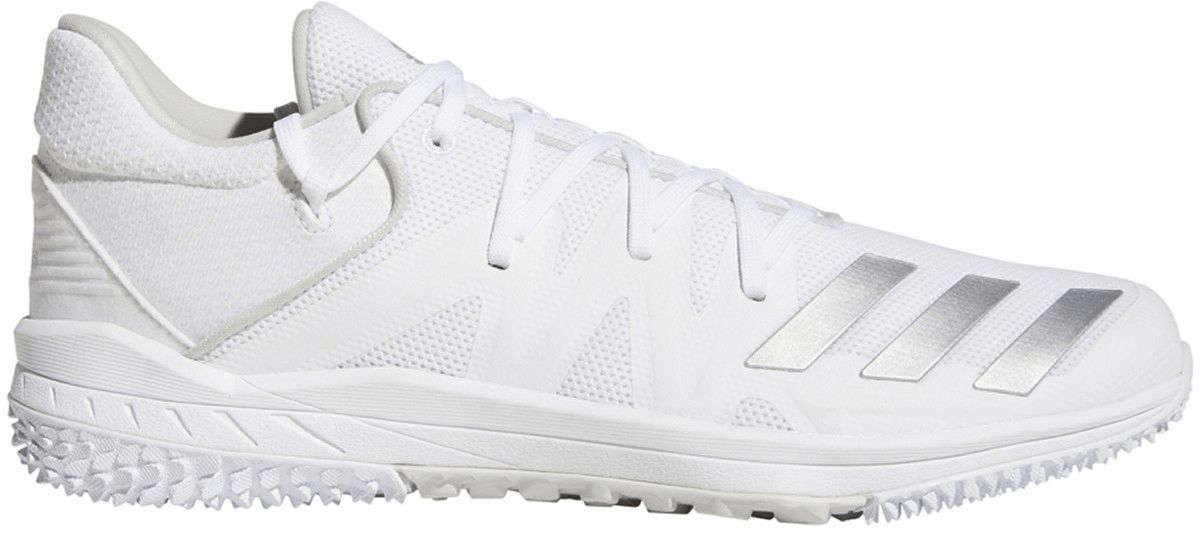 Speed Turf Trainers - White/Silver