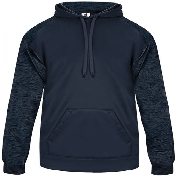 Badger Men's Sport Tonal Blend Fleece Hoodie
