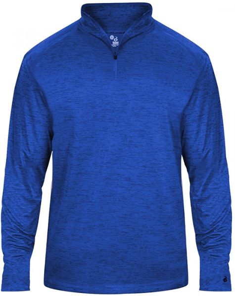 Badger Youth Tonal Blend 1/4 Zip Pullover