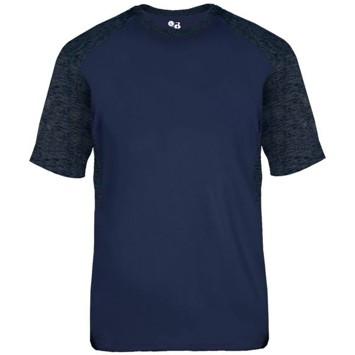 Badger Youth Tonal Blend Panel T-Shirt