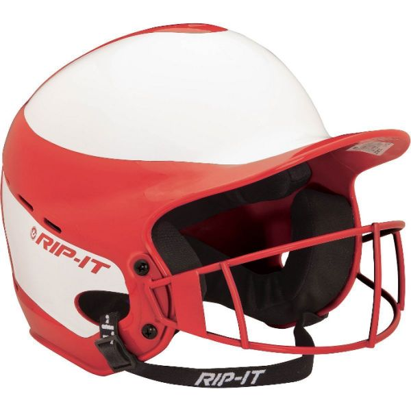 RIP-IT Vision Pro Fastpitch Batting Helmet With Mask
