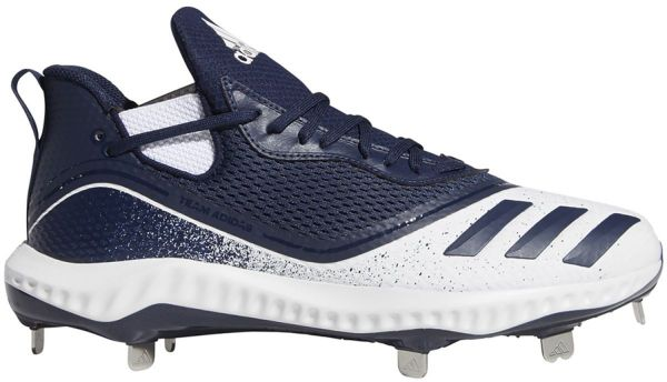 Adidas Men's Icon V Bounce Low Metal Baseball Cleats