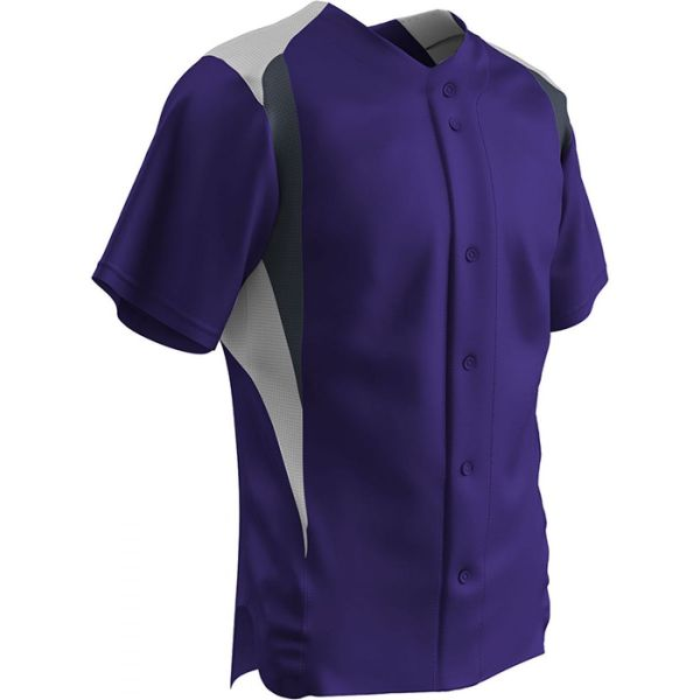 Champro Youth Bullpen Full Button Baseball Jersey