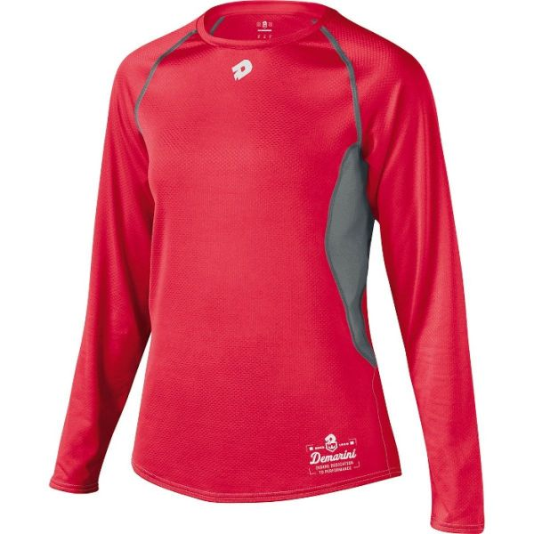 DeMarini Women's Game Day Long Sleeve Performance Shirt