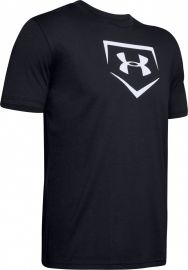 Under Armour Youth Baseball Plate Graphic Shirt