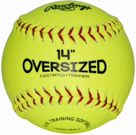 Rawlings 14 In Oversized Pitcher's Training Softball