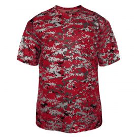 Badger Youth Digital Camo Shirt