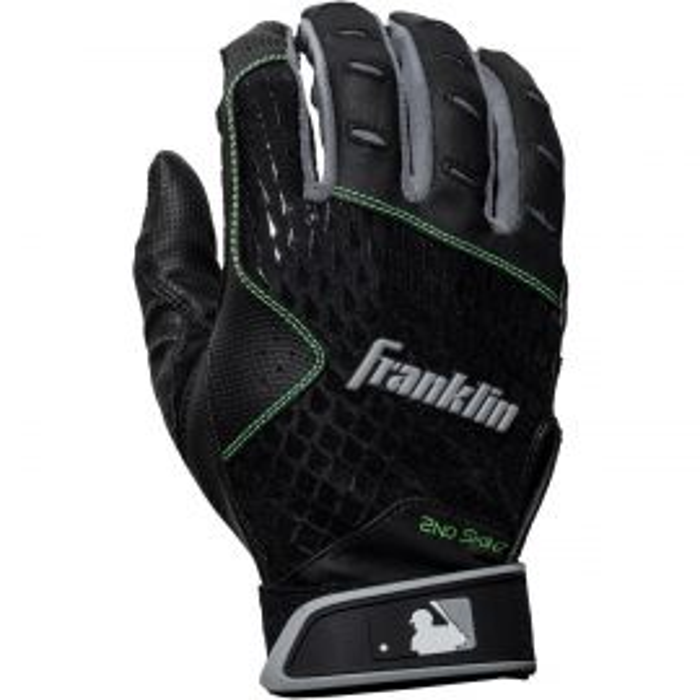 Franklin Adult 2nd-Skinz Batting Gloves