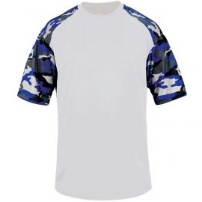 Badger Youth Camo Sport T-Shirt