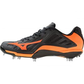 Mizuno Men's Heist IQ MX Low Metal Baseball Cleat