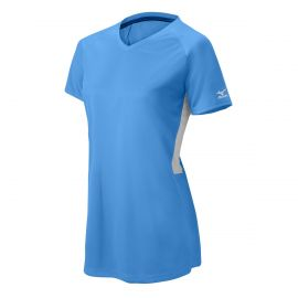 Mizuno Womens Comp Shortsleeve V-Neck Softball Jersey