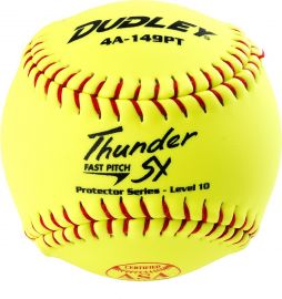 """Dudley 12"""" Thunder SY Protector Level 10 Fastpitch Softball"""