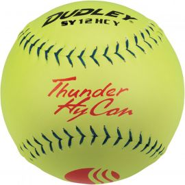 "Dudley 12"" Thunder Hycon USSSA Synthetic Slowpitch Softball"