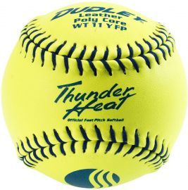 "Dudley 11"" Thunder Heat USSSA Leather Fastpitch Softball"