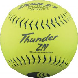 """Dudley 12"""" Thunder ZN Classic M USSSA Slowpitch Softball"""