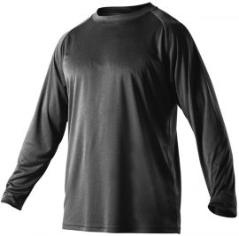Alleson Adult Heather Tech Long Sleeve Shirt