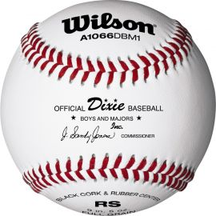 Wilson A1066 League Series Dixie Baseball (Dozen)