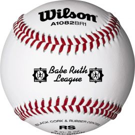 Wilson A1082 League Series Babe Ruth Baseball (Dozen)