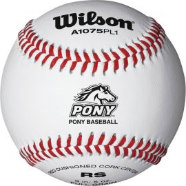 Wilson A1075 Pony League Baseball (Dozen)