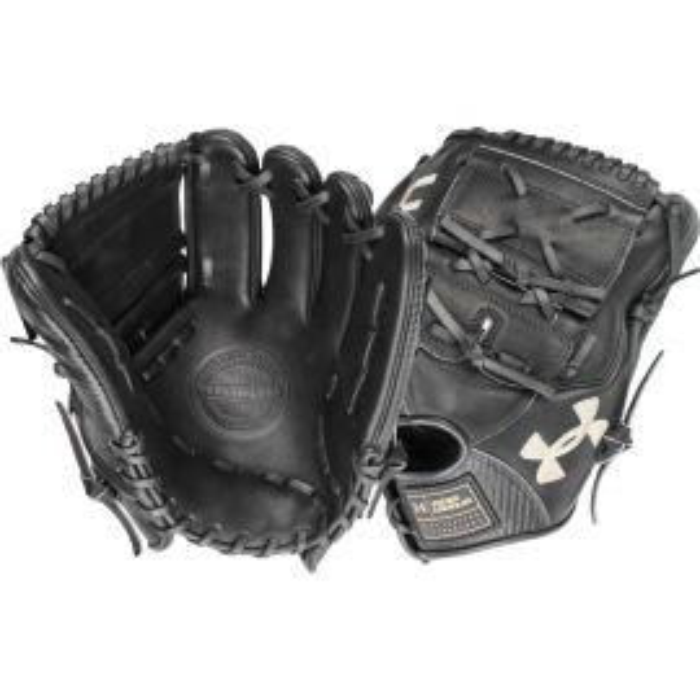 "Under Armour Flawless Series Black 12"" Baseball Glove"