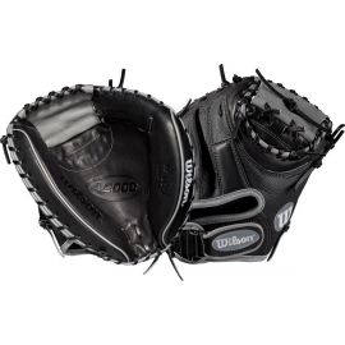 """Wilson A2000 SuperSkin 1790 34"""" Baseball Catcher's Mitt"""