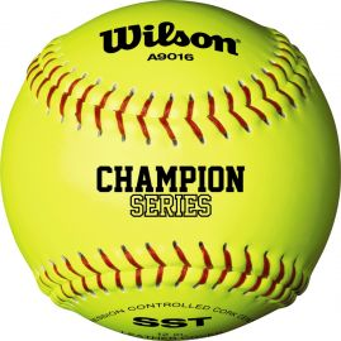 Wilson A9016 NFHS Leather Cork Softball