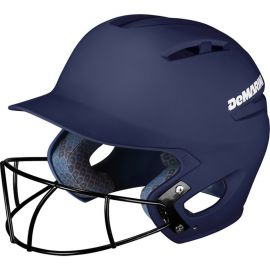 DeMarini Youth Paradox Matte Batting Helmet w/Fastpitch Mask