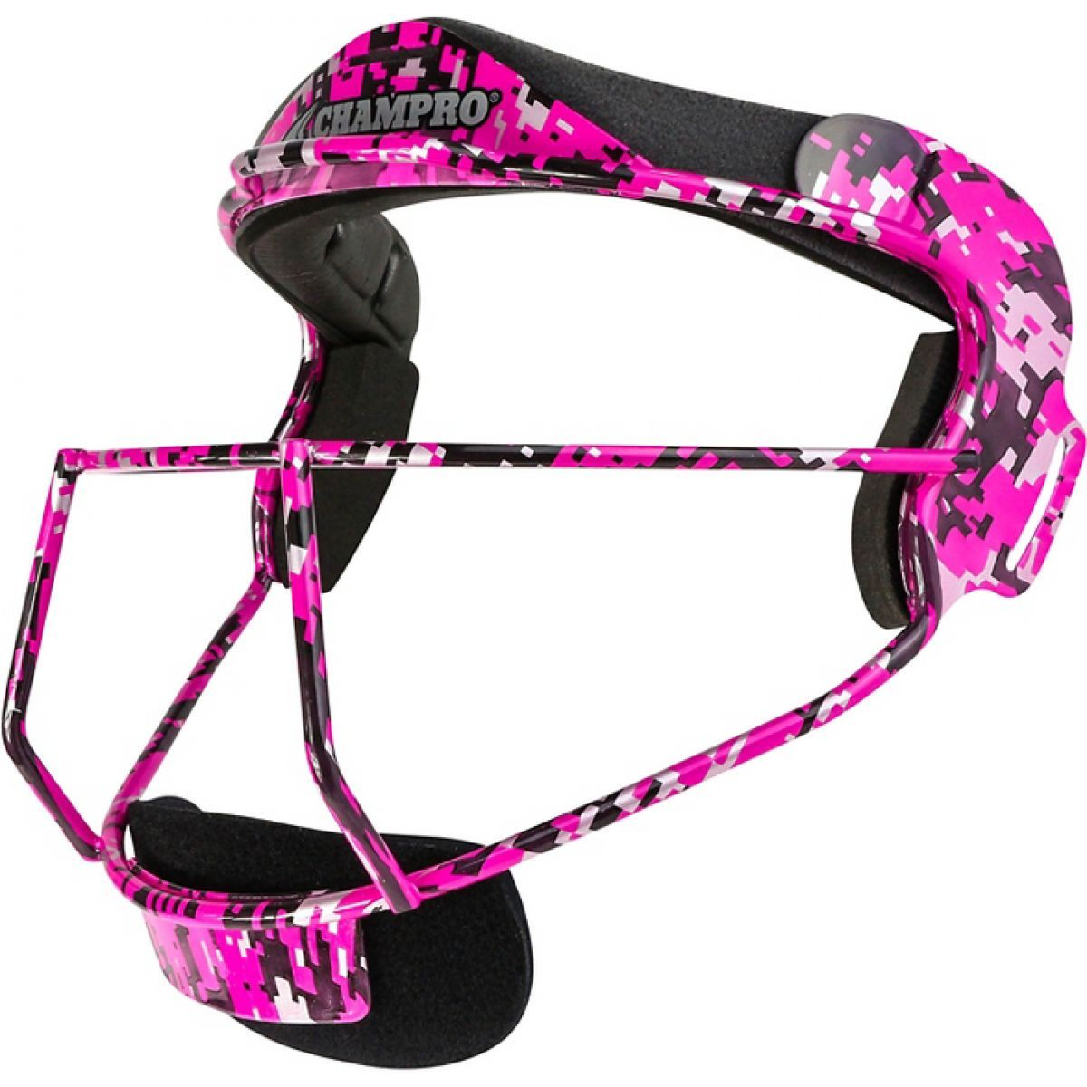Champro The Grill - Defensive Fielder's Adult Camo Facemask