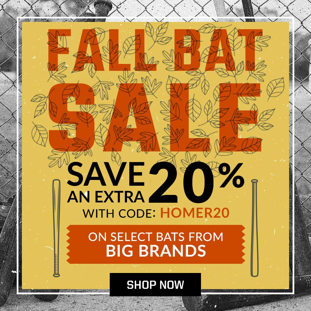 Fall Bat Sale