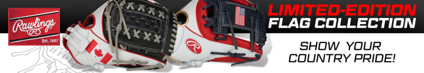 Rawlings Heart Of The Hide Flag Softball Gloves