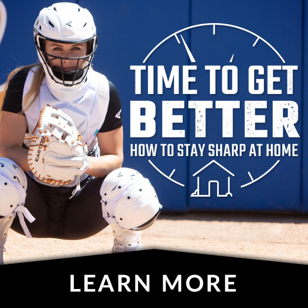 Softball - How To Stay Sharp At Home