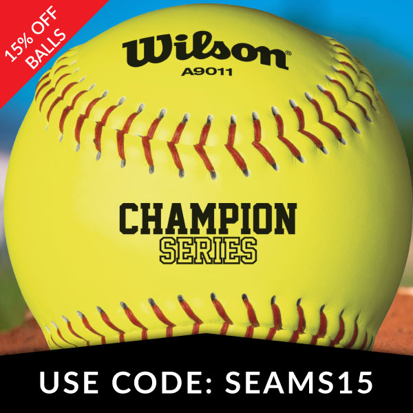 15% Off Softballs
